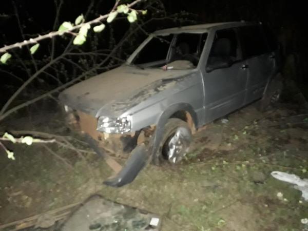 Homem sofre ferimentos leves ao perder o controle do veículo no rodoanel em Barras PI
