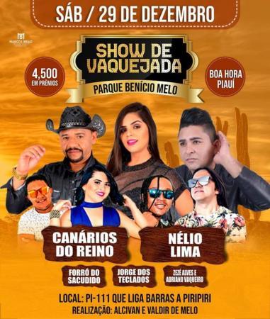 BOA HORA/ Show de Vaquejada do Parque Benício Melo
