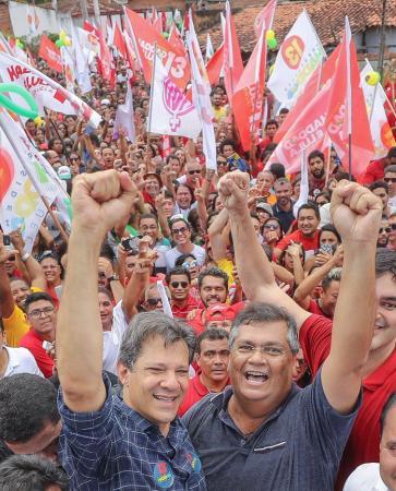 Derrotado no Brasil, Haddad vence no Piauí com 77,03% dos votos