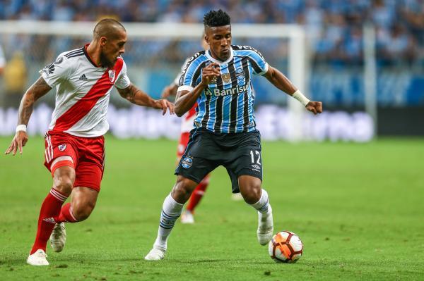 Grêmio perde de virada para o River Plate e está eliminado da Libertadores