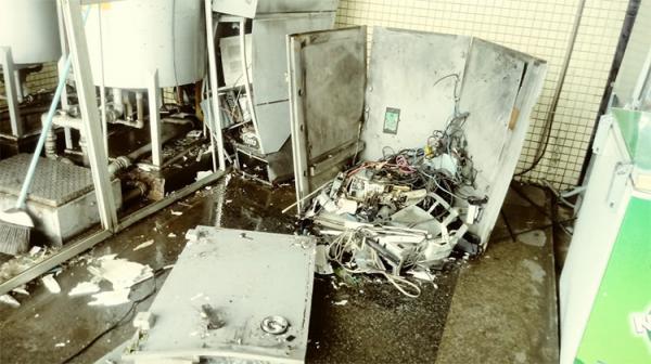 Morre terceiro suspeito de explosão de caixa eletrônico no Piauí; dois foragidos