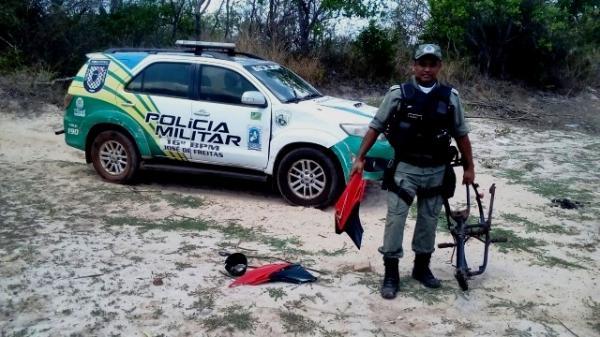 Polícia descobre 'cemitério' de motos roubadas