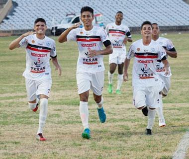 River goleia Sampaio Corrêa e segue invicto na Copa do Nordeste Sub-20