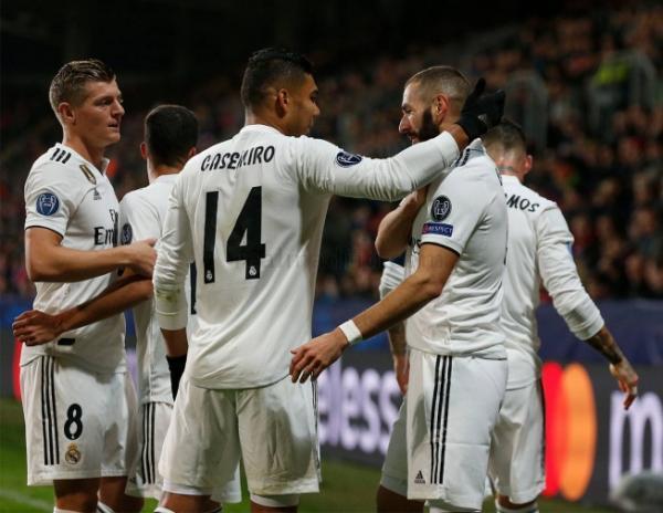 Real Madrid goleia por 5 a 0 em estreia de Vinicius Junior na Liga dos Campeões