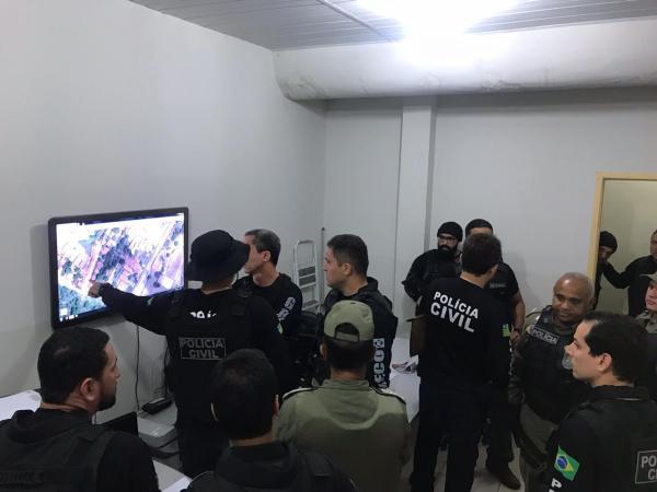 Operação Dominó: PC prende quadrilha especializada em tráfico e roubo