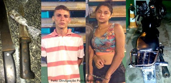 Polícia Militar prende trio que praticava assaltos e vendia drogas em Barras PI