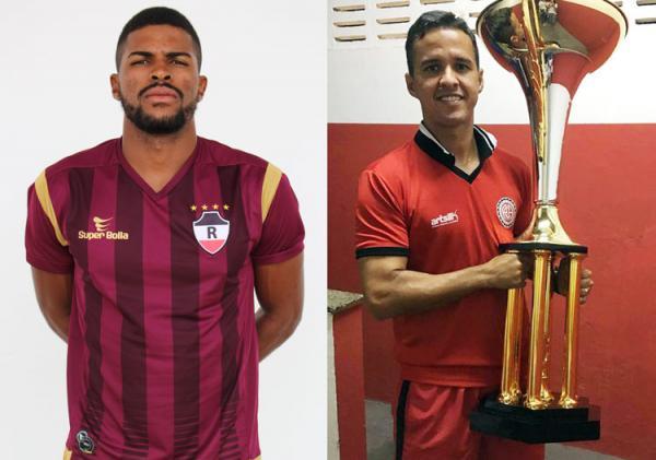 Ex-River e irmão de jogador do Altos vão reforçar o clube em 2019