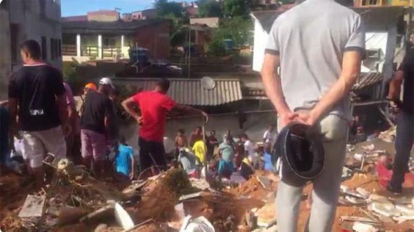 Sobe para sete o número de mortos no deslizamento em Niterói