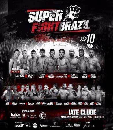 Super Fight Brazil traz o melhor do MMA à Teresina hoje
