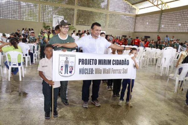 Fábio Abreu continua investindo no Projeto social Mirim Cidadão no PI