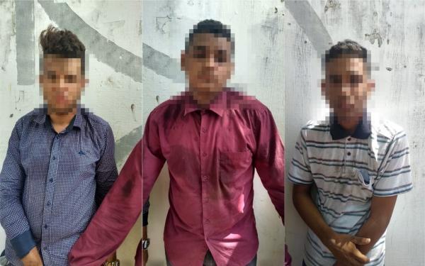 Três homens são presos por tentar furtar motos de candidatos do Enem em Teresina