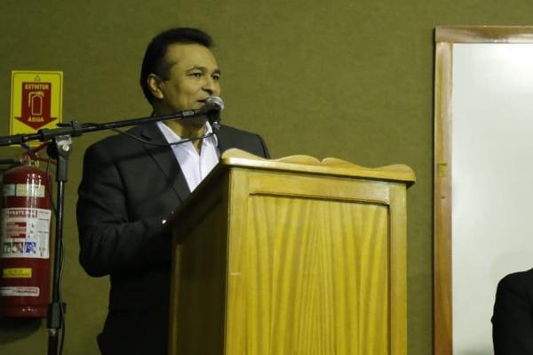 Deputado Federal Fábio Abreu participou do lançamento de Cursos de Capacitação para policiais civis e federais