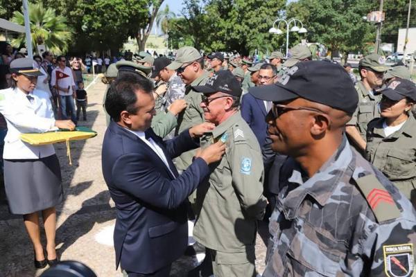 Deputado federal Fábio Abreu falou ao Portal Visão Piauí sobre a importância de homenagens feitas pela PMPI
