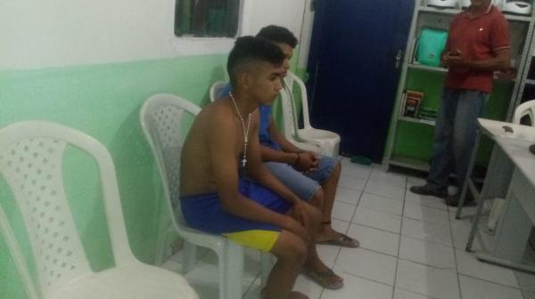 Polícia prende três acusados de assalto na região de Barras, Boa Hora e Cabeceiras