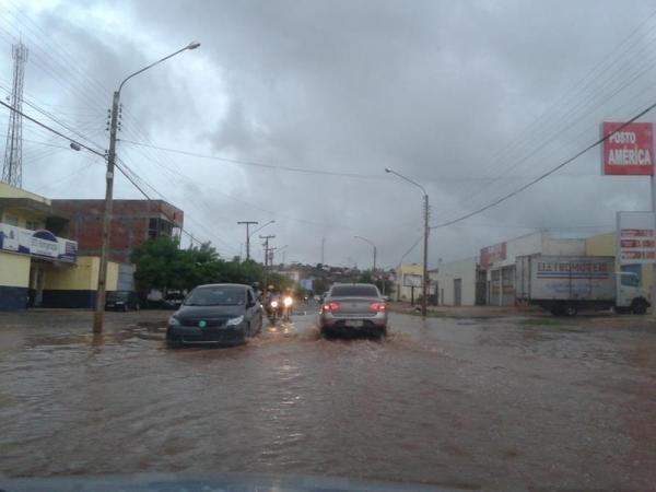 Chuvas devem continuar no Centro e Norte do Piauí até a próxima semana