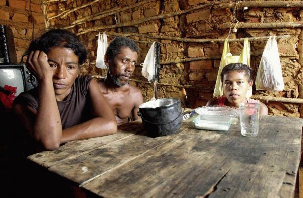 45,3% da população Piauí vive com até R$ 406 por mês