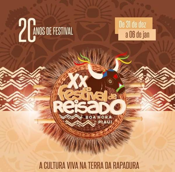 Confirmadas as atrações do XX Festival de Reisado de Boa Hora-PI