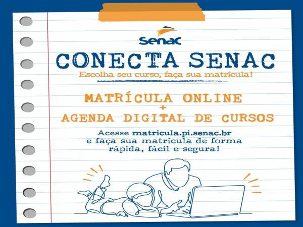 Senac Piauí Lança Matrículas Online