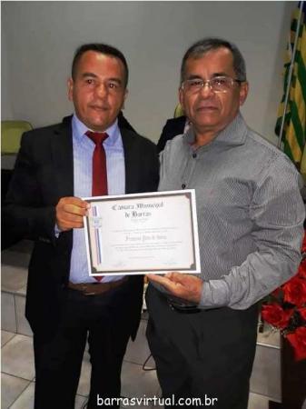 Câmara municipal de Barras concede vários títulos de Cidadão barrense