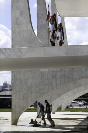 Exclusivo Portal Visão Piauí em Brasília DF; veja os preparativos no Palácio do Planalto para posse de Bolsonaro