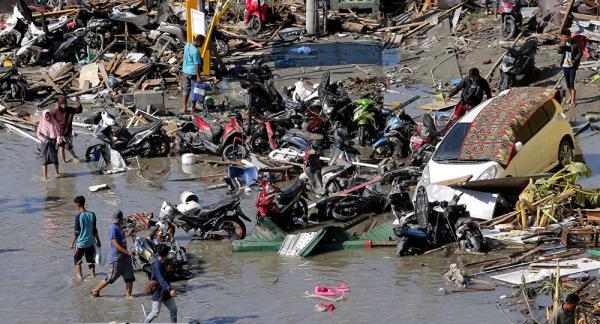 Tsunami: Indonésia registra 373 mortos e mais de 5.600 desalojados