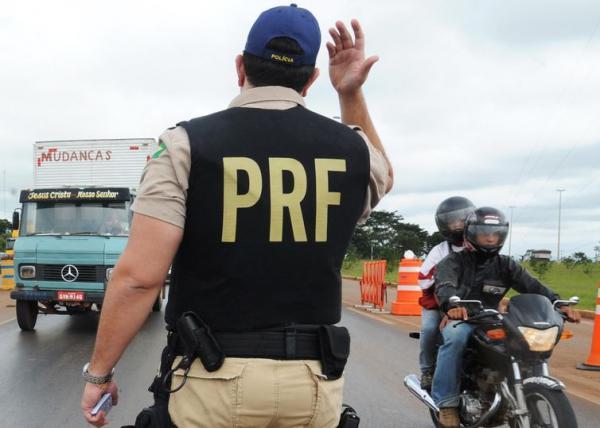 PRF registra 1.166 acidentes em rodovias no feriado de Natal