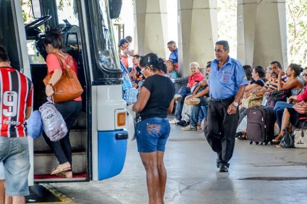 Movimentação na rodoviária de Teresina deve superar em 10% ano passado