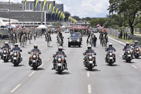 Posse de Bolsonaro será marcada por organização e intensa segurança