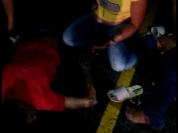 Pedreiro morre e namorada fica ferida após acidente em Campo Maior