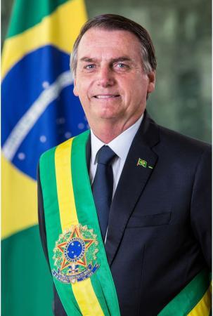 Foto Oficial do Presidente da República, Jair Bolsonaro. - Alan Santos/PR