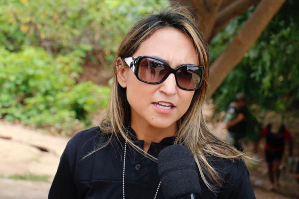 Delegada Luana Alves (Foto: Wilson Filho/Cidadeverde.com/Arquivo)