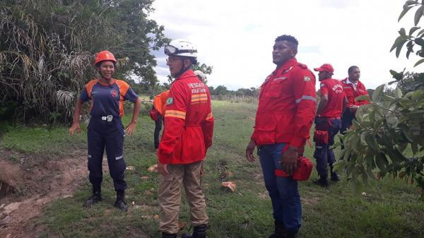 Gav resgata jovem que desapareceu em mata na zona rural de Barras