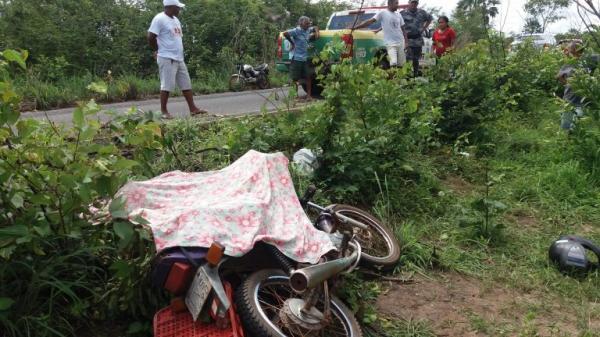 Grave acidente deixa lavrador morto na PI-113 em José de Freitas