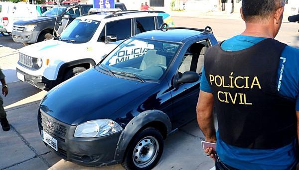 Operação apreende veículos roubados e prende três em Parnaíba, sendo um advogado