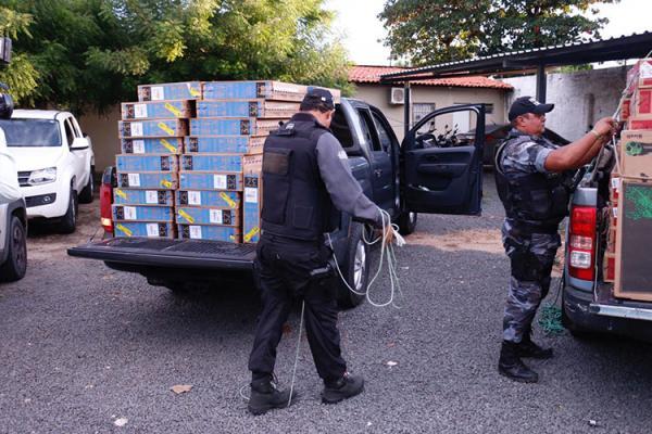 PM é preso em operação que desarticula roubo de mais de 100 televisões em Teresina