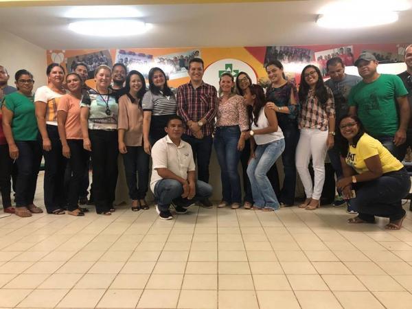 Semas realiza capacitação com equipe do Programa Federal Bolsa Família em Barras PI