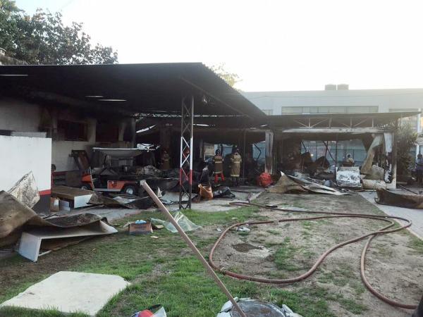 Incêndio deixa 10 mortos no CT do Flamengo no Rio