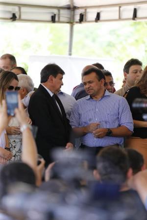 Governador e deputado federal Fábio Abreu inauguram Rodoanel de Teresina