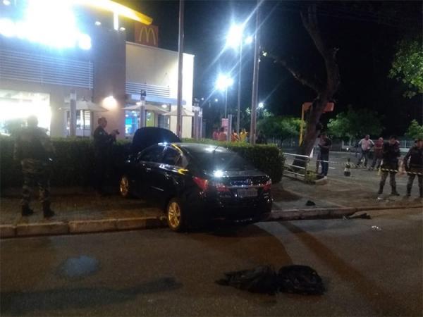 Um é morto e outro é ferido ao tentar roubar cofre em fast food