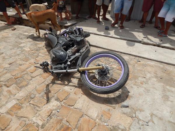 Um morto e um ferido em acidente de motocicleta em Beneditinos