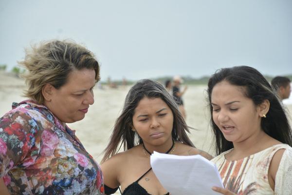 Elenco de filme barrense grava cenas em Barra Grande