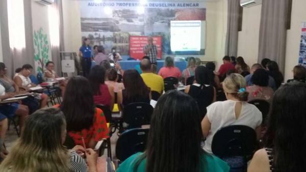 Governo de Barras PI traça metas e elabora as ações do Programa Saúde na Escola