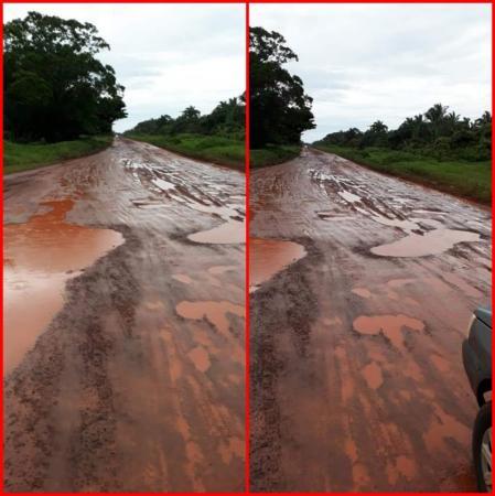 Rodovia estadual entre Matias Olimpio e São João do Arraial está intrafegável