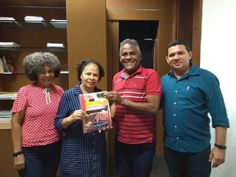 Vice Governadora Regina Sousa recebeu a equipe da Secretaria de Cultura e Turismo de Barras PI