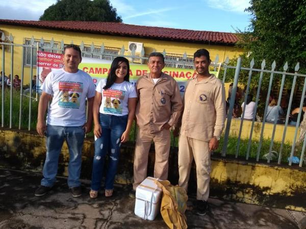 Governo de Barras PI lança campanha de Vacinação de cães e gatos