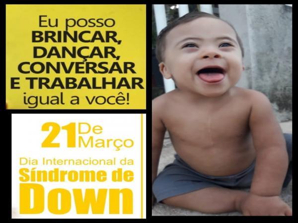 21 de março - Dia Internacional da Síndrome de Down