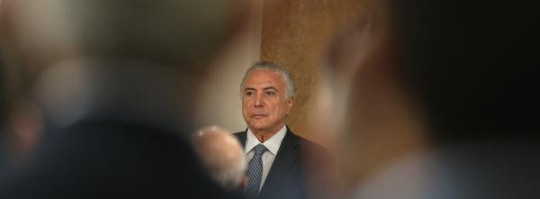 MPF: grupo de Temer recebeu R$ 1,8 bilhão