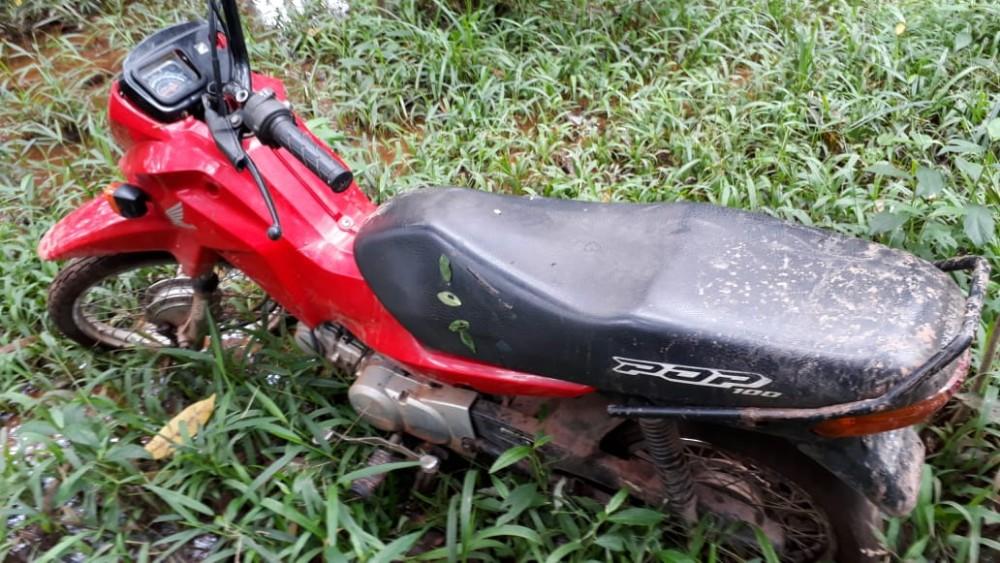PM recupera motos roubadas em Barras e persegue assaltantes