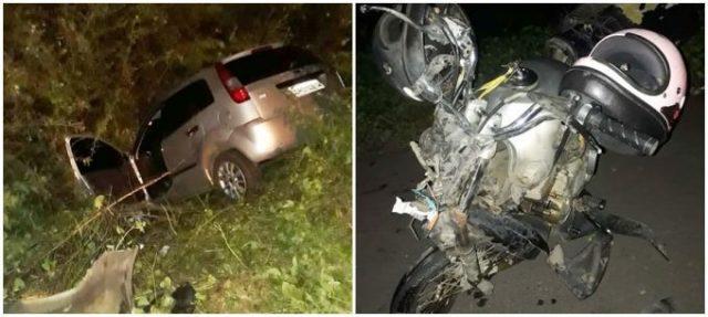 Mototaxista morre em colisão com veículo na PI 210