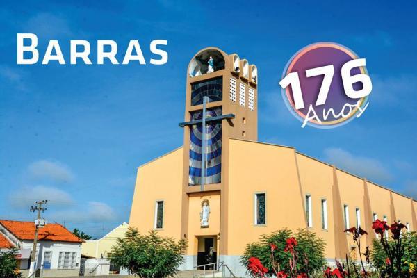 Homenagem aos 176 anos de Barras